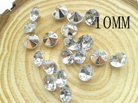10mm Color White Glass Czech diamond Beads DIY Decorative Accessories Mixed color 1000pcs /lot Free Shiping AngelBaby headwear
