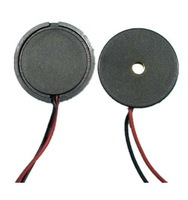 F07060 20Pcs 1710 Dia 17mm Passive Piezo Buzzer with Lead Wire Buzzerphone Alarm+freeshipping