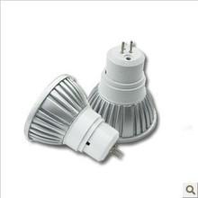 HIGH quality and Good Price MOQ: LED Cup light 3W  AC 220V voltwatt  GU5.3  Spotlight WHITE AND WARM WHITE (China (Mainland))