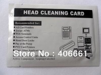 100 PCS Credit Card MSR Head Cleaner Cleaning Card for Magnetic Stripe Reader NEW