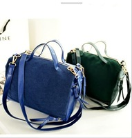 Hot selling fashion women Nubuck leather  handbags Europe and America brand designer a shoulder bags messenger bag purse