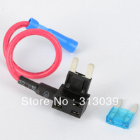 Hot 10X Add- A -Circuit Fuse Tap Piggy Back Blade Fuse Holder G0108
