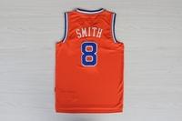 # 8 JR Smith new style orange color new fabrics basketball jersey