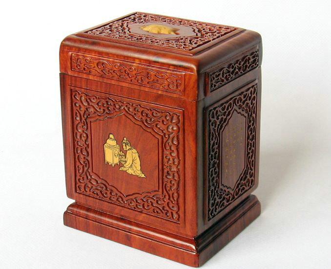 """4.9 """" Swartzia spp madeira vasilha chá chinês madeira escultura Home Office Use(China (Mainland))"""