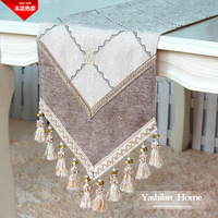 Aesthetic fashion quality luxury rustic fashion brief new classic table cloth dining table cloth table runner placemat