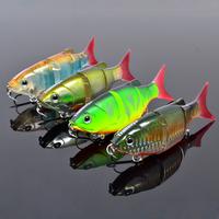 Promotion,retail 5pcs Swimbait fish 80mm 10 hard bait fish fresh water lure