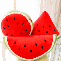 Large fruit watermelon pillow plush pillow personalized cushion birthday gift