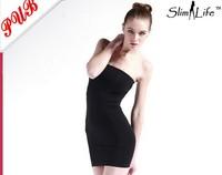 Womens Lady Body Shaper Dress Magic Skirt Bum Slimming Tummy Control Underwear Tube 500pcs Free shipping