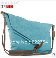 Hot sale canvas bags women and men bags with zipper style bags free shipping