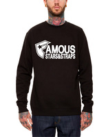 Famous 2013 autumn sweatshirt west coast pullover sweatshirt hiphop street big letter o-neck male