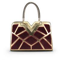 2014 vintage color block bag trend bag women's leather handbag shoulder bag high quality bolsas femininas women messenger bag