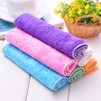 home supplies Japanese style ultrafine fibre wash towel dishclout Cleaning Cloths 10pcs/lot color random  free shipping