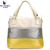 2014 space bag women's handbag in contrast color with long shoulder B217