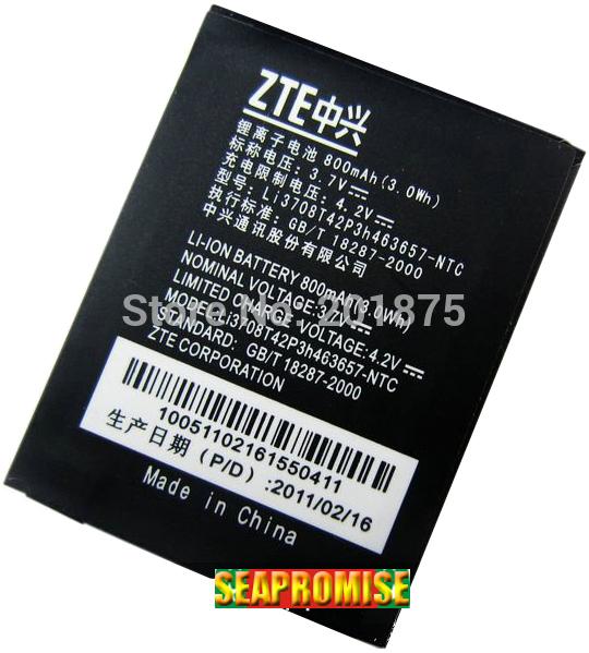 wholesale 10pcs/lot Li3708T42P3h463657 mobile phone battery for ZTE G-N281, N281, Vodafone 547,NTC ZTE orang(China (Mainland))