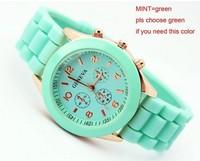 Geneva Relojes Casual Quartz Watch Military men Silicone Dress Watches Unisex Wristwatch Sports Watch Relogio Feminino For Women