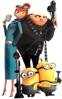 "Free shipping  , Giant size Despicable Me 2 Wall Sticker, Wall Decals,31"" X 18"""