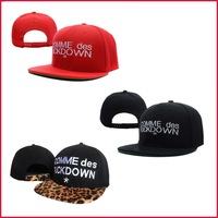 Comme des fuckdown flat brim baseball hip-hop hiphop hat