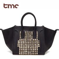 Tmc women's handbag rivet bag smiley bag motorcycle women's bags fashion trend of the women's handbag yy054-3