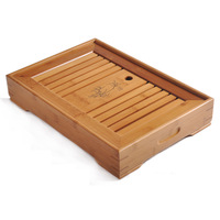 Water teaberries Large Medium Small tea sea teaberries bamboo tea tray