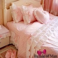 Rustic FAIRYFAIR princess bedding bow cake piece set bedding