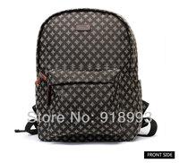 Business casual men canvas backpack bag han edition tide student bag large capacity