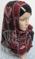 QSJ036 fashion long muslim scarf