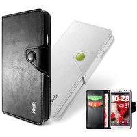 Genuine Brand IMAK Magnet Flip Luxury Leather Case Card Holder Wallet Pouch Cover For LG E980 E988 E986 F240 Optimus G Pro