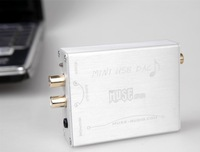 MUSE HIFI USB to S/PDIF Converter USB DAC PCM2704 silver color