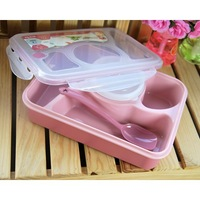 4 +1 microwave lunch box / lunch box random color