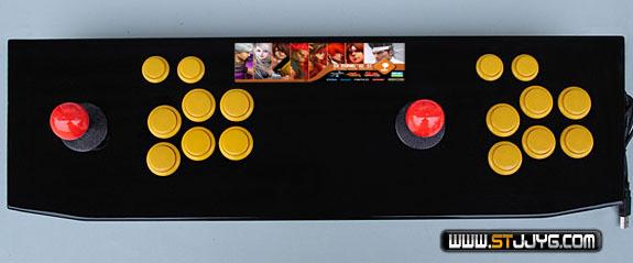 good quality 2014 Joysticer 4-way arcade double arcade joystick usb pc joystick game joystick rocker(China (Mainland))
