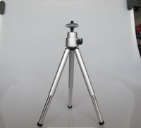 High quality Mini Travel Aluminum Metal Lightweight Tripod Support Stand Mount for Digital Camera