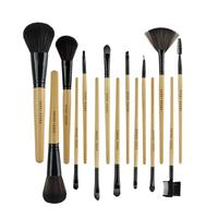 Freeshipping hot 15 pcs pro Goat hair makeup brushes,makeup tools+drop shipping