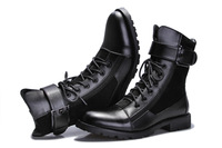 Trend martin boots male boots genuine leather male fashion