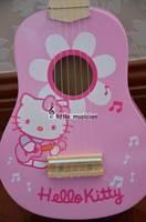 HELLO K . Ukulele. Hawaiian four-string small guitar. Acoustic guitar.