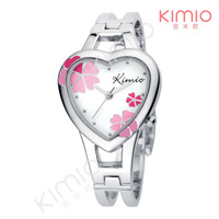 Watch Heart Free Shipping Wholesale Fashion Charm Stylish Style Luxury Elegant Clock Watches