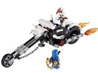 Bela Ninjago Skull Bike 9728 Building Block Sets 156pcs 2259 Educational Jigsaw DIY Construction Bricks toys for children