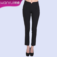 Women's 2013 autumn ol fashion mid waist skinny pants pencil pants female elegant