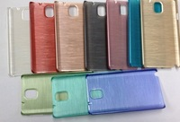 200pcs/lot Free shipping 10colours High quality smooth wiredrawing protective cover case for samsung galaxy note 3 N9000