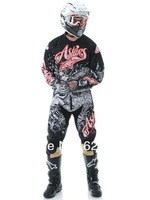 1set X Racing Polyester jersyes and Oxford pants.Motocross Suit,motorcycle,motorbike,bicycle,moto clothing