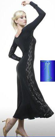 Платье для танцев 012 M012