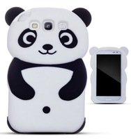 Brand New Items Silicon Panda Case Covers for Samsung Galaxy I9300 S3 Mini Dirtproof High Quality  Wholesale Free Shipping