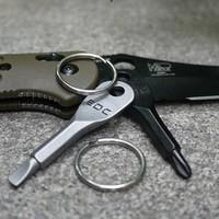 Cross screwdriver edc combination toiletry kit multifunctional screwdriver outdoor key ring