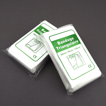 Outdoor travel first aid kit care products non-woven bandage bib(China (Mainland))