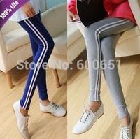 Casual Sports Full Length Leggings Women's Slim Pencil Pants W3142