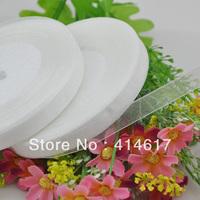 "100Y 3/8"" Sheer Organza Ribbon Craft/Wedding/sewing White  RA134"