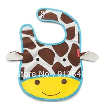 Free Shipping,Retail 1pcs,High Quality Baby Bibs Cartoon Waterproof Infant Bibs Baby Wear
