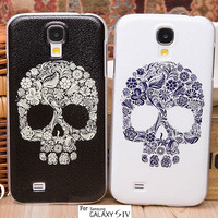 For Samsung Galaxy S4 i9500 S IV Hard Case Back Cover Fashion Lovely Gift unique New Skull Head design Hard Case