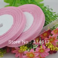"""100Y 3/8"""" Sheer Organza Ribbon Craft/Wedding/sewing Mauve  RA135"""