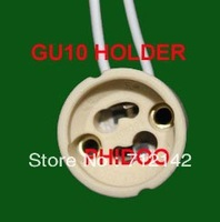 free  shipping ,10pcs/lot,GU10 Base,Ceramic GU10 socket,GU10 Holder,Bulb adaptor