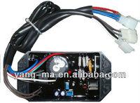 10 Wires Diesel Generator Single phase AVR For Kipor,KAMA 186F 178F 5KW 6KW KI-DAVR-50S free shipping